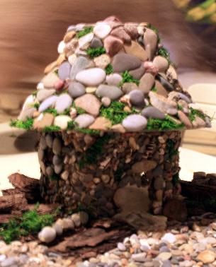 Easy Diy Stone Veneer For Fairy Garden Houses The Fairy