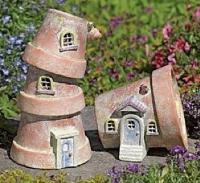 how to make a fairy house the fairy garden. Black Bedroom Furniture Sets. Home Design Ideas