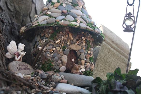 DIY Stone Fairy