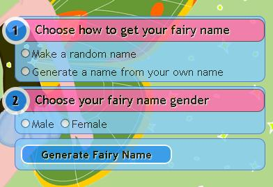 Fairy Name Generator