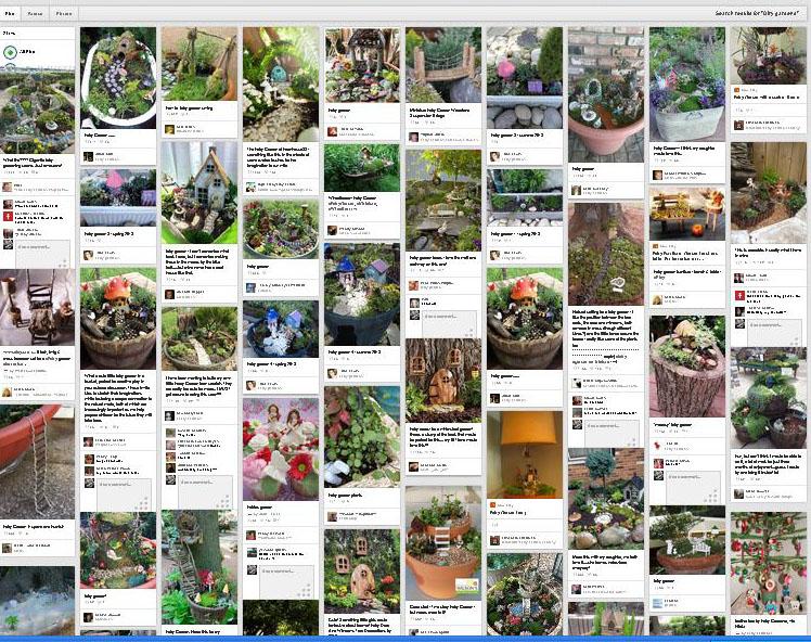 Image result for pinterest garden screen shot