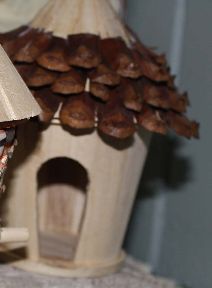 Make A Fairy House From A Bird House The Fairy Garden